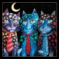 The Corporate Cats (Black)) #LE111366