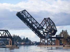 Salmon Bay Bridge #91856
