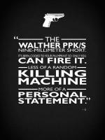 James Bond Personal Statement #RGN114796