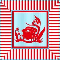Cradle-Red/Blue #76042
