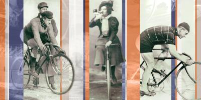 Vintage Bicycling #101634