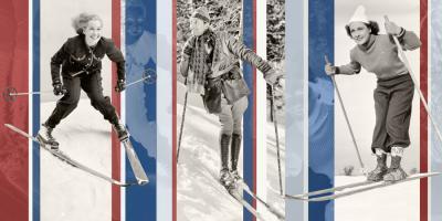 Vintage Skiing #101635