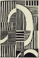 Abstract Linocut A #90992
