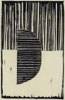 Abstract Linocut B #90993