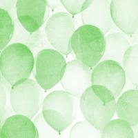 Airy Balloons in Green B #92430