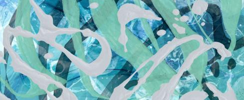 Aquatic Abstract 2 #92732