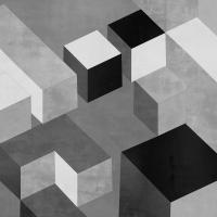 Cubic in Grey II #TS112578