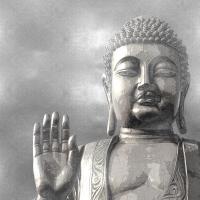 Silver Buddha #TY112675
