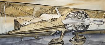 Biplane #UHOC-234