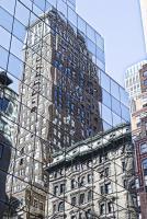 Skyscraper Reflections New York #92343