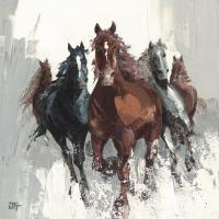 Les chevaux II #IG 3289