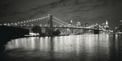 Brooklyn Bridge at Night #IG 3396