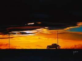 Sunset Run #IG 4647
