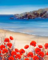 Poppies by the Sea #IG 4877
