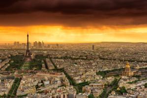 Sunset to Paris #IG 7808