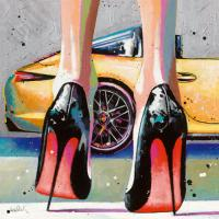 My high Heels, my pretty Car and Me #IG 7993