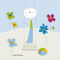 Boy on a Swing #IG 8078