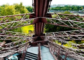 Escalier ouest #IG 8231