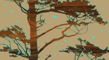 Tree With Birds #87302